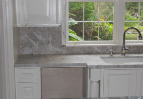 ivory bamboo quartzited leathered